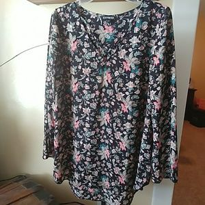 Express Floral Long Sleeve
